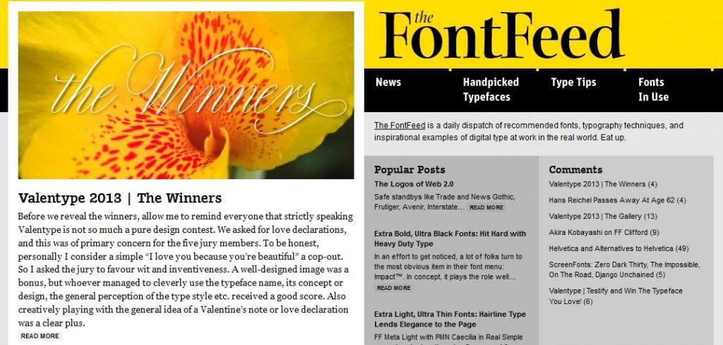 FontFeed
