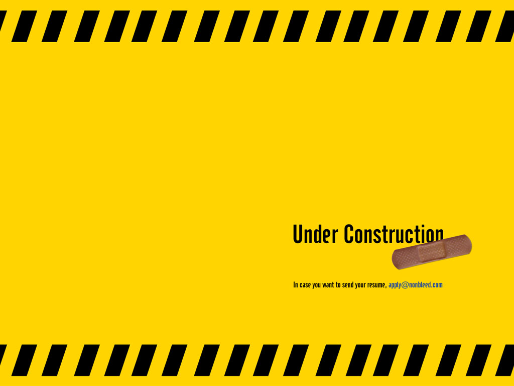 Wednesday Inspiration Under Construction Fonts Blog