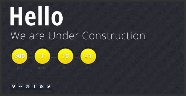 wednesday inspiration under construction fonts blog