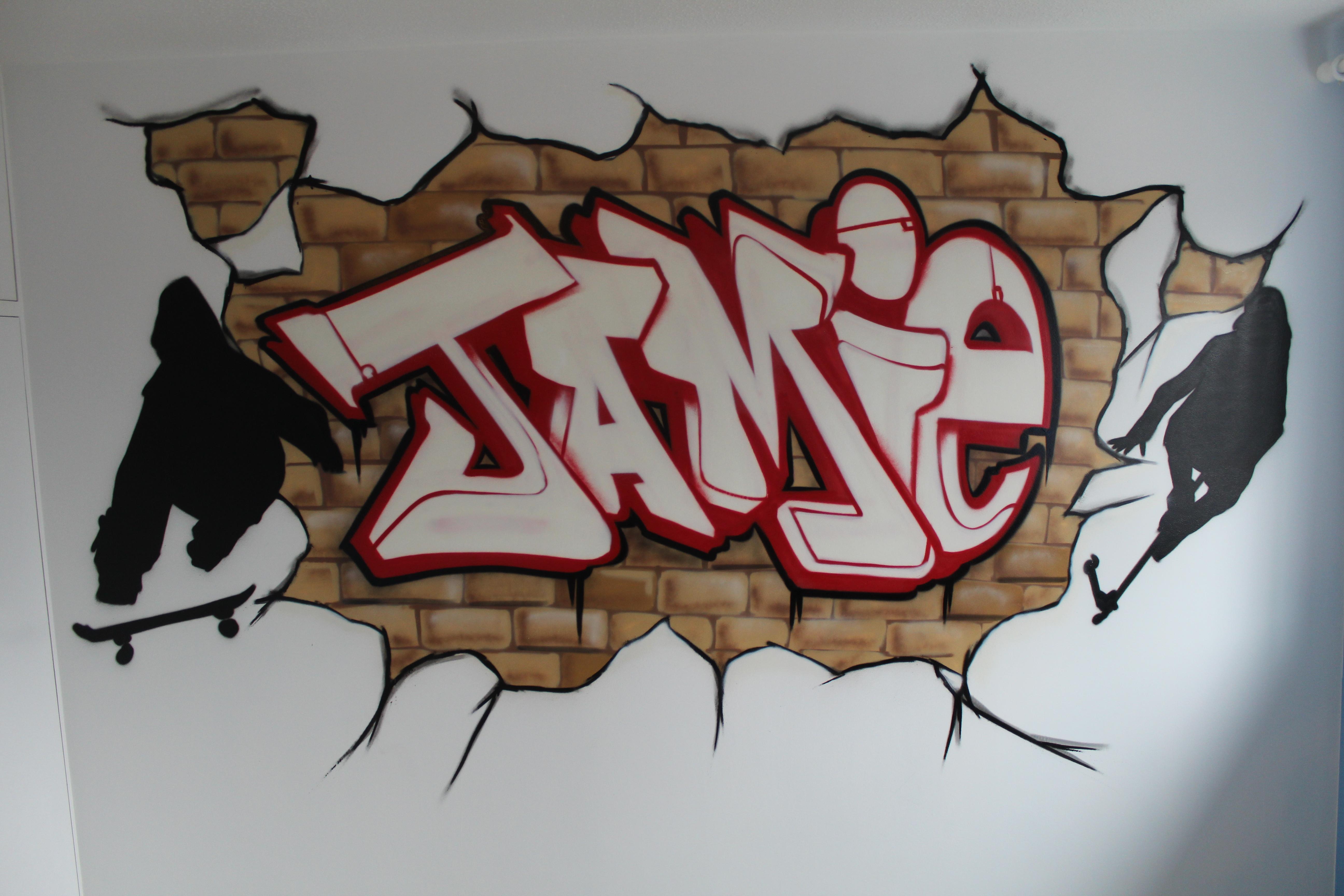 Wednesday inspiration graffiti types blog - Bedroom wall graffiti ideas ...