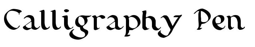 Calligraphy Resources