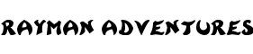 Click for a full preview of Rayman Adventures free font