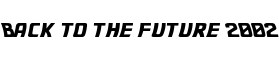 Click for a full preview of Back to the future free font