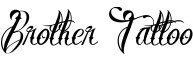 Click for a full preview of Brother Tattoo free font