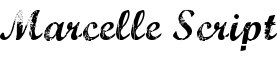 Click for a full preview of Marcelle free font